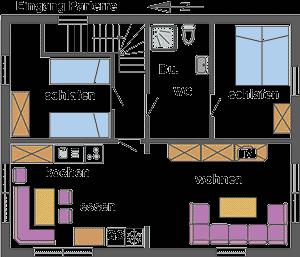 ferienwohnung barth ostsee 4 6 personen. Black Bedroom Furniture Sets. Home Design Ideas